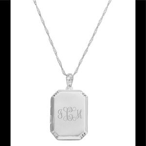 Jewelry - Things remembered Classic square Locket